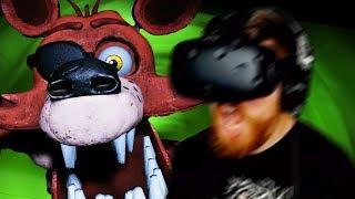 Beating FNAF 1 in VR - Five Nights at Freddy