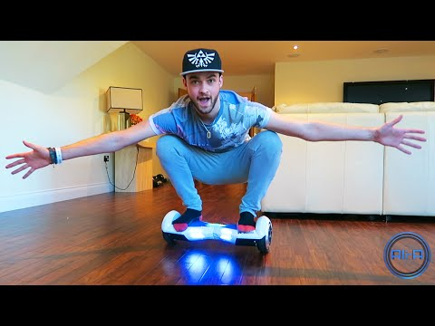 Ali-A's new toy! - SEGWAY that PLAYS MUSIC!