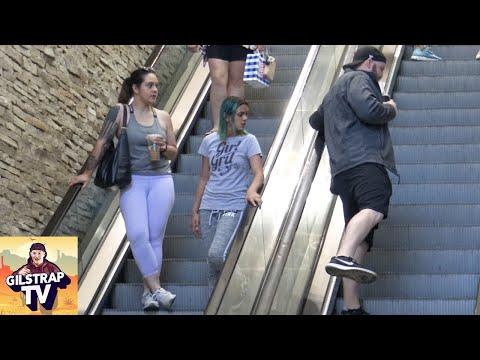 WET Fart Prank on The Escalator