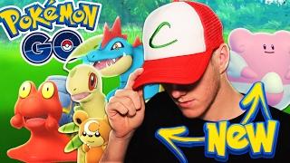 BRAND NEW GEN 2 EVOLUTIONS! (Pokemon Go)