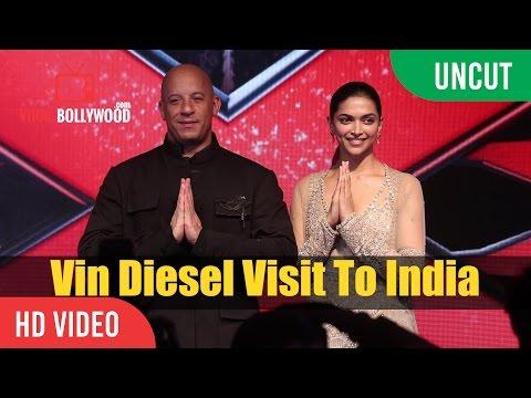 Xxx Mp4 UNCUT XXX Return Of Xander Cage Press Conference Vin Diesel Visit To India Deepika Padukone 3gp Sex