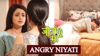 Jiji Maa : Falguni Slaps Niyati,Niyati Feels Jealous On Piyali | Bhavika Sharma IV