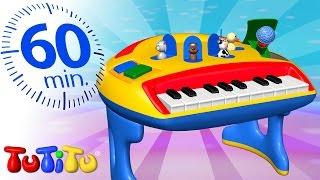 TuTiTu en Francais | Piano | Et autres jouets éducatifs | 1 heure spécial