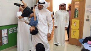 طفل يبعد سلطان بن سلمان عن الرسميات