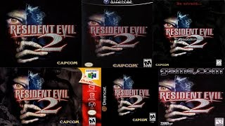 Resident Evil 2 - Unique Content Differences (ALL versions) - Lotus Prince
