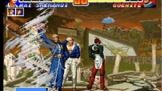 KOF 96 Batalla contra Goenitz (Arcade Mode)