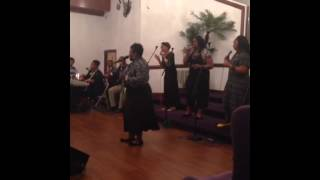 Anointed  voices of praise (kervy brown)