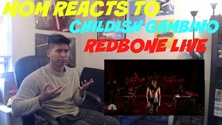 MOM REACTS TO CHILDISH GAMBINO REDBONE LIVE PERFORMANCE JIMMY FALLON | REACTION
