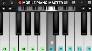 Pehli Pehli Baar Mohabbat Ki Hai Piano Tutorial || Sirf Tum || Mobile Perfect Piano Tutorial