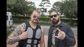 SABATON Interview at Download Festival Australia 2018 | HEAVY TV