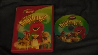 Opening and Closing to Barney: You Can Be Anything 2007 DVD