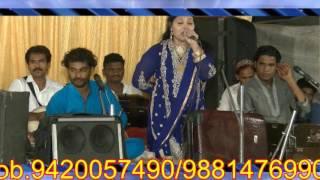 Gulzar Nazan vs Ruby Taj Qawwali Programme @ Mahad, Noore Peer Dargah urs 2017- (Part 8)