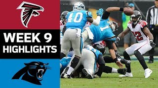 Falcons vs. Panthers   NFL Week 9 Game Highlights