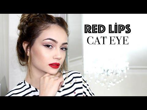 Kırmızı Ruj Makyajı | 5 Farklı Ruj Alternatifi