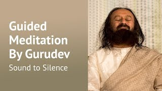 Sound to Silence - Guided Meditation - Sri Sri Ravi Shankar