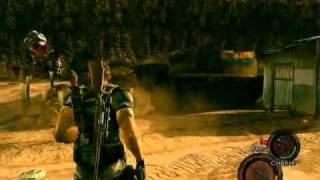 Resident Evil 5 (Matando al murcielago-gamba)