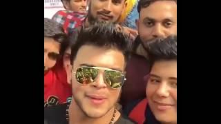 Sahil Khan Met His Biggest Fan On Street Of Delhi