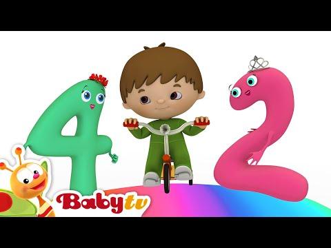 A canção de contar Conheça os números de 1 a 10 com Charlie E Os Números