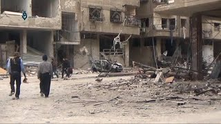 Bombardment in Syria continues despite Russia