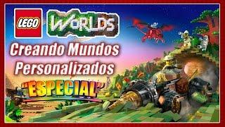 LEGO Worlds - Gameplay Español [Especial] Creando Mundos Personalizados