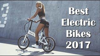 Top 5 Best ELECTRIC BIKES 2017