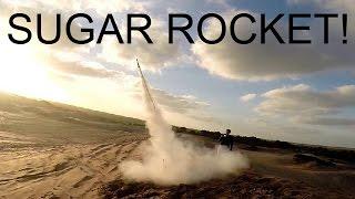 SUGAR-KNO3 ROCKET! 200KMH