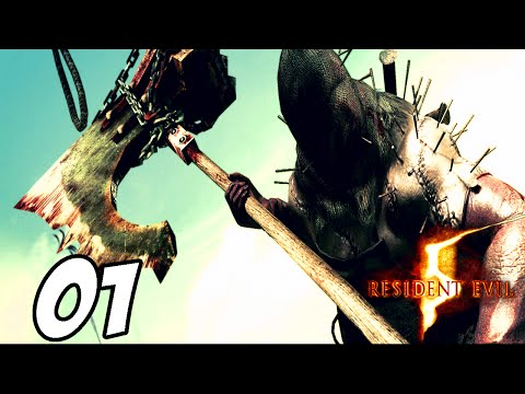 Resident Evil 5: - Part 1 - Executioner Boss Fight!