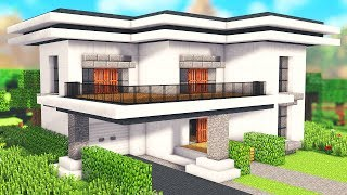 Tuto Maison Moderne Facile A Faire Minecraft بوابة الفيديو