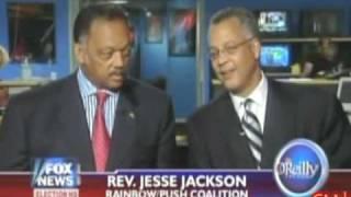 JESSE JACKSON makes crude remarks about OBAMA on Fox News