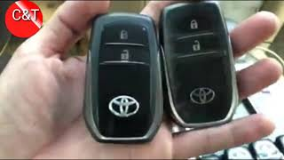 How to check case the key TOYOTA Land Cruiser Original or Local,