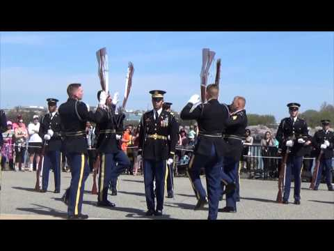 watch JSDTC | 2014 | United States Army | Old Guard Drill Team | Armed Exhibition