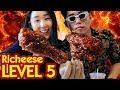 Download Video MUKBANG 6 BOX RICHEESE FIRE CHICKEN Lvl 5 3GP MP4 FLV
