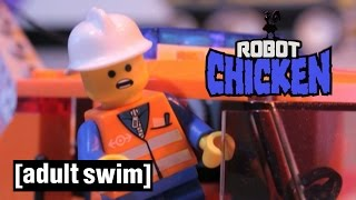 Lego Space Launch Disaster | Robot Chicken | Adult Swim