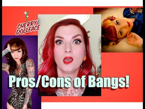 Xxx Mp4 Pros Cons Of Bangs Mostly Bettie Bangs By CHERRY DOLLFACE 3gp Sex