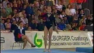 Verona Van De Leur - 2001 Cottbus Floor Exercise