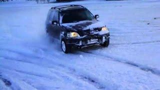 Subaru forester Vs honda Cr-v snow offroad!