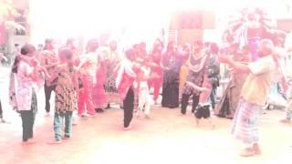 Village girls dance for bijoy doshomi (Part-1)