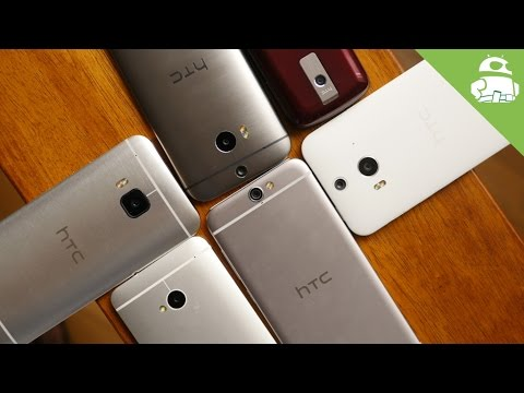A history of HTC's Android designs