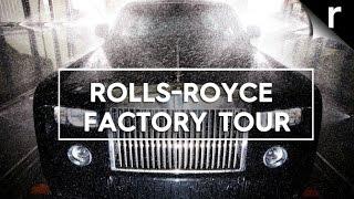 Rolls-Royce factory tour: How the Phantom, Wraith and Ghost are born