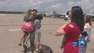 Carrier Air Wing Eight returns from 7-month deployment