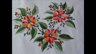 Fabric painting Tutorial 1