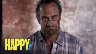 HAPPY! | Chris Meloni Is Nick Sax | SYFY