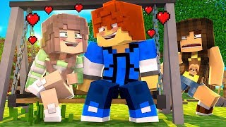 Minecraft Girls Vs Boys - RYAN'S REAL GIRLFRIEND!?