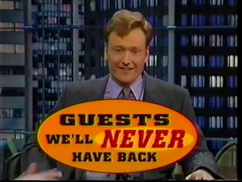 Guests We ll Never Have Back on Conan 1998 02 20