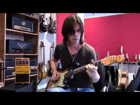 Boss OD1x and DS1x demo by Pete Thorn