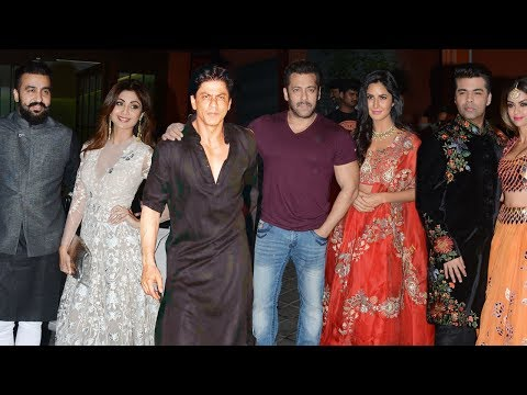 Xxx Mp4 Salman Khan39s GRAND Diwali Party 2017 FULL Video Shah Rukh KhanKatrina KaifShilpa Shetty 3gp Sex