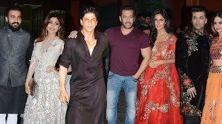 Salman Khan's GRAND Diwali Party 2017 FULL Video | Shah Rukh Khan,Katrina Kaif,Shilpa Shetty