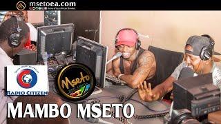 Diamond Platnumz And Mzazi Willy Tuva Live on Lodwar's Akicha Radio