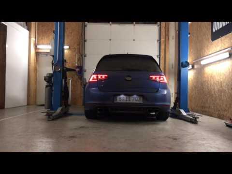 VW Golf 7 R Launch Control Underground Exhaust AGA Stage 3