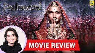 Anupama Chopra's Movie Review of Padmaavat | Ranveer Singh | Deepika Padukone | Shahid Kapoor